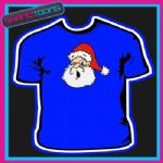 SANTA CLAUS FATHER CHRISTMAS TSHIRT CHILDRENS MENS & LADIES SIZES